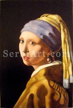 Milica Blagojevic - Oil painting  The girl