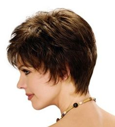 Short Hairstyles For Women Over 50 | Short wedge hairstyles, Fine ...