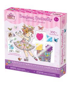 Look at this #zulilyfind! Fancy Nancy Stick'n Click Bonjour, Butterfly Jewelry Kit by Fancy Nancy #zulilyfinds