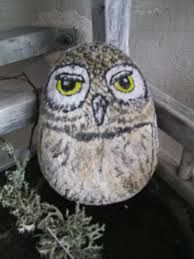 Kuvahaun tulos haulle syksyinen metsä askartelu Owl, Bird, Animals, Painted Rocks, Animales, Animaux, Owls, Birds, Animal