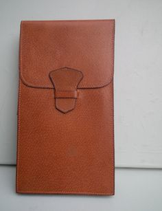 Vintage 1960s 1970s Leather Bag Purse Large by SoMuchFrippery, $39.00