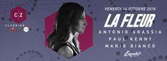 CLUBBINGZONE: LA FLEUR  - PARTY - 20161014 - Arenile Bagnoli - Clicca per maggiori info >>