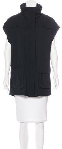 Alice + Olivia Oversize Hooded Vest w/ Tags