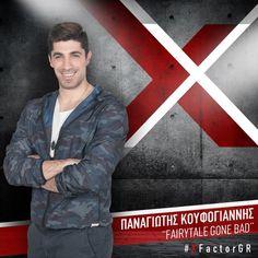 Παναγιώτης Κουφογιάννης – Fairytale gone bad | X Factor Live