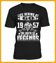 Life begins at 60a 1957 - Neujahr shirts (*Partner-Link)