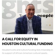 @houstonmaac founder and CEO John Guess talks with BAIA In: A Call For Equity In Houston Cultural Funding. More at blackartinamerica.com