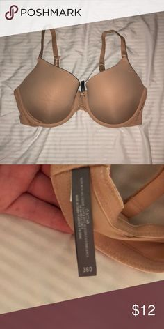 basic bra basic nude bra from aerie. worn once aerie Intimates & Sleepwear Bras