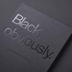 Smells like Fresh Print — Black, Obviously. Page Layout Design, Book Design, Cover Design, Menu Design, Design Design, Square Business Cards, Business Card Design, Design Logo Inspiration, Corporate Design