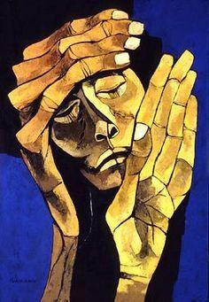 ecuadorian painter oswaldo guayasamin - Google Search