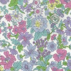 ホビーラホビーレオリジナルリバティプリント・2015MS ラミネート エミリー<25X> Fabric Patterns, Print Patterns, Sewing Patterns, Textile Prints, Textiles, Liberty Print, Ditsy, Camellia, Haberdashery