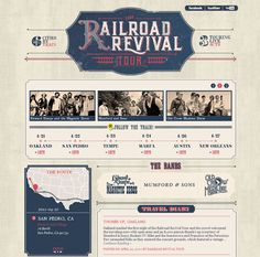 Retro, Vintage and Western Website Designs from Around the Web - StarSunflower Studio