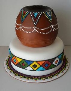 Amazing Wedding Cakes Food Network Tradition Of Eating Wedding Cake On Anniv… - Coiffures De Mariage Zulu Traditional Wedding, Traditional Wedding Invitations, Traditional Cakes, Traditional Dresses, Modern Traditional Decor, African Wedding Cakes, African Wedding Theme, African Theme, African Weddings