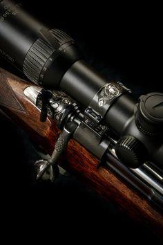 John Rigby Falcon rifle
