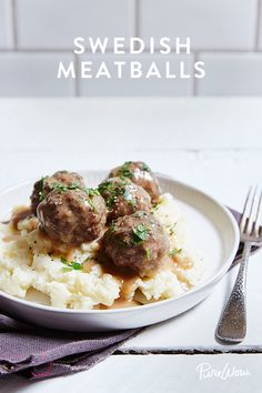 Swedish Meatballs. Just like Ikea minus the maze, purchases and construction. Our recipe for Swedish Meatballs is easy to make and can be served over mashed potatoes as dinner or as an appetizer.