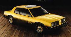 1983 Oldsmobile Omega SX.  2.5L Engine Rated @ 90 HP.