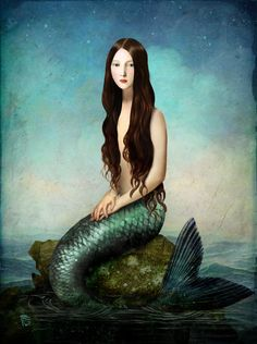 Deep Waters Art Print by Christian Schloe | Society6