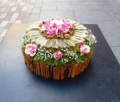 The Covent Garden Academy of Flowers- Tea Party #cake #flower