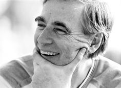 """""""I'm not that interested in 'mass' communications. I'm much more interested in what happens between this person and the one person watching. The space between the television set and that person who's watching is very holy ground."""" -Fred Rogers"""
