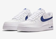 Nike Air Force 1 AO2423-103 White Deep Royal Release Info  60ff424b1