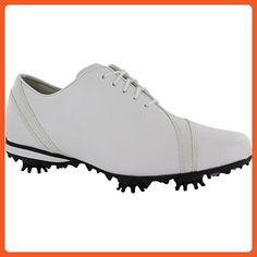 FootJoy LoPro Collection Asymmetrical Golf Shoes 97135 2014 Ladies CLOSEOUT White Medium 10 - Athletic shoes for women (*Amazon Partner-Link)