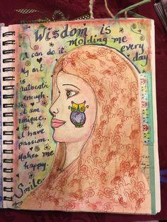 SPLAT PAINT - ART Journaling: Art Journaling: Wisdom