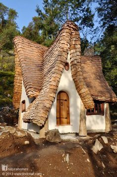 Storybook architecture on the shores of Vancouver Island, Canada.