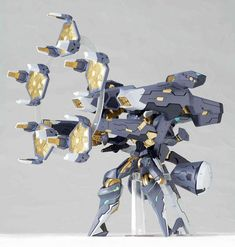 Mecha Monday: Anubis: Zone of the Enders Jehuty and Vector Cannon Revoltech | Moar Powah!