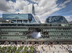 MyZeil for shopping one stop from Frankfurt School