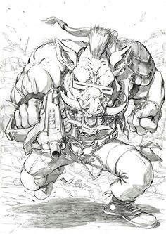 Daily @deviantART Picks for 07/28/2014 #TMNT #IDW #Bebop | Images Unplugged