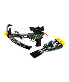 Love this Kings Sport Toy Crossbow Set by Velocity Toys on #zulily! #zulilyfinds