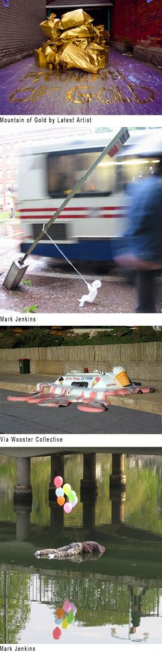 STREET ART: URBAN INTERVENTIONS, CRITICS, COLLECTORS AND QUESTIONS. Posted by Emily Barnett / living11.com