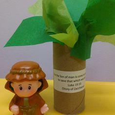 Zacchaeus Nursery Craft