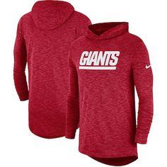 29716335c MEN S WEARING APPAREL New York Giants Nike Sideline Slub Performance Hooded  Long Sleeve T-shirt