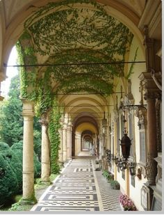 Arches, Zagreb, Croatia(This is the most beautiful cemetery I have ever seen) Beautiful World, Beautiful Places, Simply Beautiful, Wedding Places, Wedding Locations, Wedding Venues, Destination Wedding, Italy Wedding, Beautiful Architecture