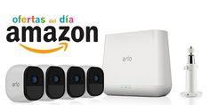 Ofertas del día en Amazon para toda la gama de videovigilancia ARLO PRO de Netgear  #tech #oferta #tecnología