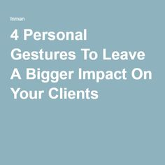 Making a bigger impact on your clients requires you to abandon the stigma that real estate agents are just that: sales agents.