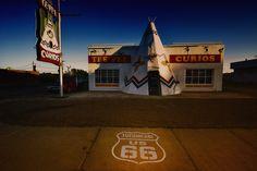 Tucumcari, New Mexico.