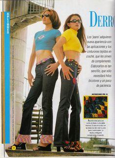 butterflycreaciones / fanaticadel tejido: revista croché 7 Boutique, Parachute Pants, Capri Pants, Album, Fashion, African Flowers, Spinning, Outfit, Journals