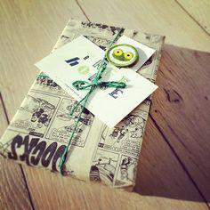 comic wrap : )