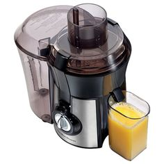 I pinned this Hamilton Beach Electric Juicer from the Fresh & Fit event at Joss & Main!