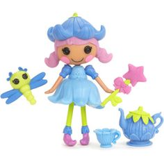 Mini Lalaloopsy Doll Bluebell Dew Drop