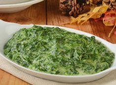 Healthy Recipe From Joy Bauer's Food Cures Creamy Spinach Crock Pot Recipes, Side Dish Recipes, Spinach Recipes, Vegetable Recipes, Vegetarian Recipes, Healthy Recipes, Easy Recipes, Crock Pot Slow Cooker, Crock Pot Cooking