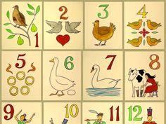The 12 Days of Christmas (If It Were Written Today): wikipedia