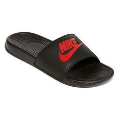 half off 9aff2 22309 jcpenney.com   Nike® Benassi JDI Solarsoft Mens Slide Sandals size 9  Claquettes,