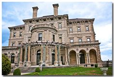 The Vanderbilt estate - The Breakers, Newport, RI.