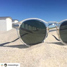 We're dreaming of the beach on this rainy day in #Memphis. 🕶 by @moscotnyc…