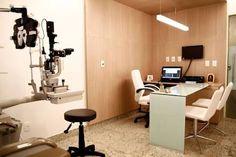 Resultado de imagem para consultório oftalmológico