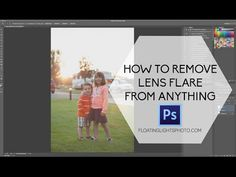 How To Remove Lens Flare From Anything | Floating Lights Photography | Castlegar, BC, Photographer