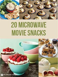 Here are some ideas we found on the net for snacks you can make in the microwave during the previews – or if you like the previews, you can make them right before you toss that disc in to the player. These snacks are sweet, salty, crunchy or soft and all kinds of different flavors …