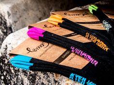 Presentando nuestros calcetines de bambú. Introducing our bamboo socks.  Calcetín Lemonade Attack Fuchsia Passion, venta en la tienda on-line
